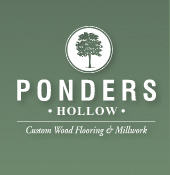 Ponders Hollow custom wood flooring and millwork.